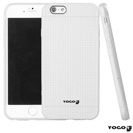Capa Protetora para iPhone 6 de Plástico Flexível Branco - I6-003WHT, Branco, Capas e Protetores, 06 meses