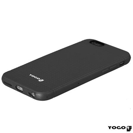 Capa Protetora para iPhone 6 de Plástico Flexível Preto - I6-003BLK, Capas e Protetores, 06 meses
