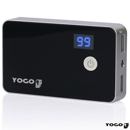 Bateria Externa com Saída USB para Carregamento 5V Preta - Yogo - POWBLK, 06 meses