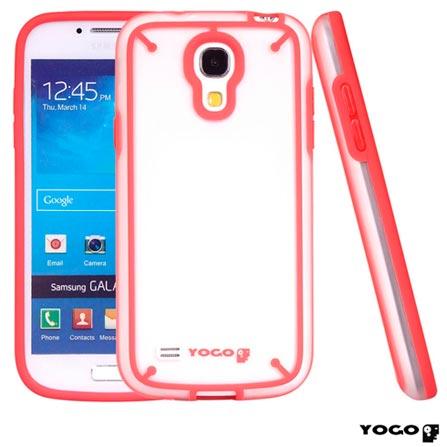 Capa Protetora TPU Yogo para Galaxy S4 Mini Vermelho, Vermelho, 06 meses