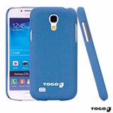 Capa Protetora Yogo azul para Galaxy S4 Mini Sand