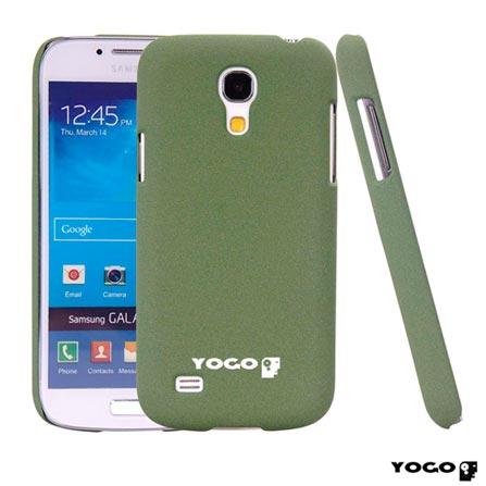 Capa Protetora Yogo Verde para Galaxy S4 Mini Sand, Verde, Capas e Protetores, Não especificado, 06 meses