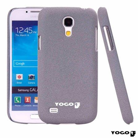 Capa Protetora Yogo Cinza para Galaxy S4 Mini Sand, Cinza, Capas e Protetores, Não especificado, 06 meses