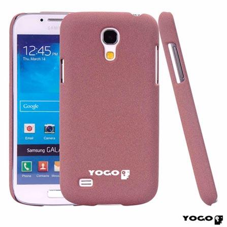 Capa Protetora Yogo Rosa para Galaxy S4 Mini Sand, Rosa, Capas e Protetores, Não especificado, 06 meses