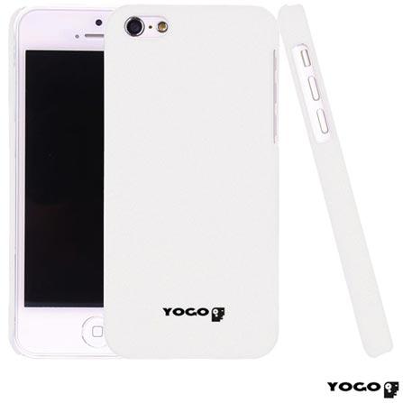 Capa Protetora Yogo para iPhone 5C Sand Branca YGUN526WHT, Branco, 06 meses