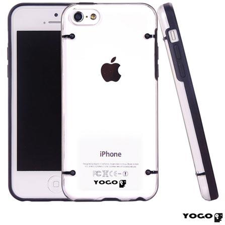 Capa Protetora em Acrílico Yogo para iPhone 5C Preta, 06 meses