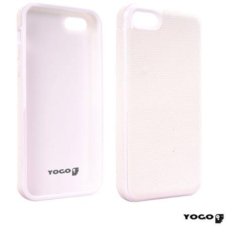 Capa Protetora em TPU Yogo para iPhone 5C Branca, Branco, 06 meses