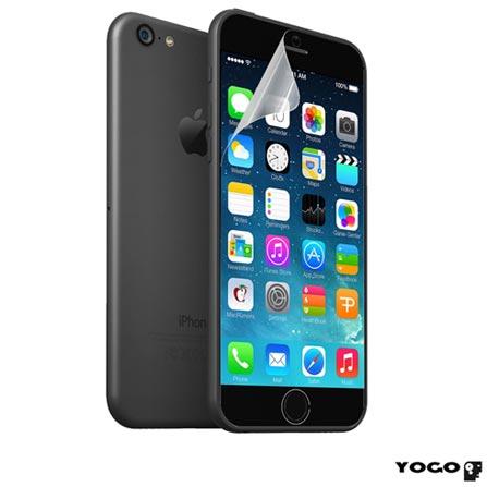 """Película Protetora Transparente para iPhone 6 de 4,7"""" - Yogo - YG6IPCLR, Não se aplica"""