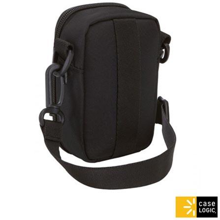 Case Porta Câmera em EVA Preto para Câmeras com Flash e Câmeras de Vídeo de tamanho médio – Case Logic, Bolsas e Cases, EVA, 300 meses