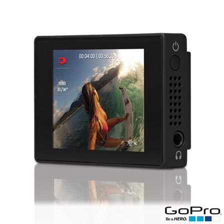 Tela de LCD GoPro Preta para Câmera Hero3 +, Hero3 - ALCDB-303, DG, 06 meses