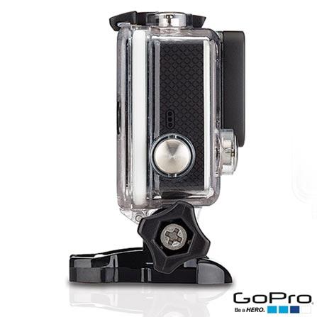 Filmadora GoPro Hero3+ Black Cinza, com 12.0 MP - HERO3BLK + Tela LCD GoPro Hero Touchscreen - ALCDB-301, 0