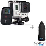 Filmadora GoPro Hero3+ Black, com 12.0 MP - HERO3BLK + Carregador Veicular com 2 Saídas USB para HD - ACARC-001