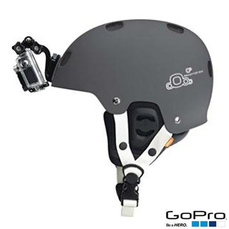 Filmadora GoPro Hero3+ Silver com 10.0 MP - HERO3SILV + Suporte Frontal GoPro para Capacete para Câmeras - AHFMT-001, 0
