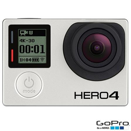 Filmadora GoPro Hero4 Black Adventure com 12 MP e Filmagem em 4K - HERO4BLK + Cinturão de Fixação Peitoral - GCHM30, 0