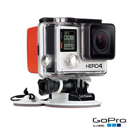 Filmadora GoPro Hero4 Black Adventure com 12 MP, Full HD e Filmagem 4K -  HERO4BLK + Suporte para Prancha, 0