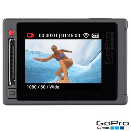 Filmadora GoPro Hero4 Silver Adventure com 12 MP, Full HD e Filmagem em 4K - HERO4SILV + Kit de Suportes Preto - Opeco, 0
