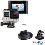 Câmera Filmadora GoPro Hero4 Silver Adventure com 12 MP,Full HD e Filmagem em 4K - HERO4SILV + Acessório para Tripé