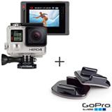Filmadora GoPro Hero4 Silver Adventure com 12 MP e Filmagem em 4K - HERO4SILV + Suporte Curvo - GoPro