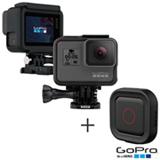Camera Digital GoPro Hero 5 Black, 12MP, Gravacao 4K - CHDHX-501-BR + Controle Remoto Ativado por Voz - AASPR-001-LA