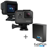 Camera Digital GoPro Hero 5 Black, 12MP, Gravacao 4K - CHDHX-501-BR + Bateria Recarregavel - AABAT-001