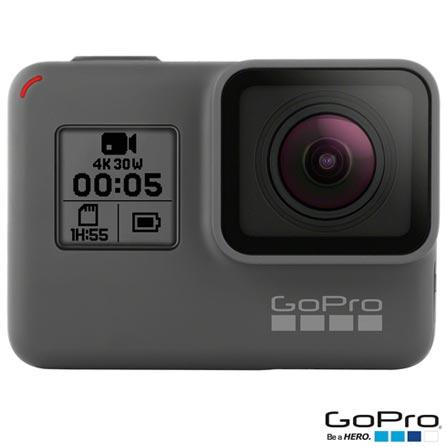 Camera Digital GoPro Hero 5 Black, 12MP, Gravacao 4K - CHDHX-501-BR + Bateria Recarregavel - AABAT-001, 0