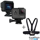 Camera Digital GoPro Hero 5 Black com 12 MP, 1,5' e Gravacao em 4K - CHDHX-501-BR + Cinturao em Plastico Preto