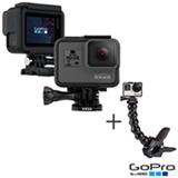 Camera Digital GoPro Hero 5 Black, 12 MP, 1,5', Gravacao em 4K CHDHX-501-BR + Suporte com Garra Flexivel Preto ACMPM-001