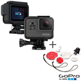 Camera Digital GoPro Hero 5 Black, 12MP, Gravacao em 4K - CHDHX-501-BR + Suporte para Prancha de Surf em Plastico Branco