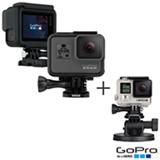 Camera Digital GoPro Hero 5 Black com 12 MP, 1,5' e Gravacao em 4K - CHDHX-501-BR + Suporte para Veiculos GoPro Preto