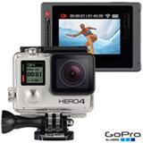 Filmadora GoPro Hero4 Silver Adventure com 12 MP, 1,5'e Gravação em 4K - HERO4SILV