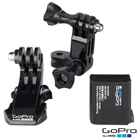 Filmadora GoPro Hero4 Silver Adventure com 12 MP, 1,5