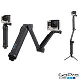 Suporte em 03 Formas GoPro para Câmeras HERO Preto - AFAEM-001