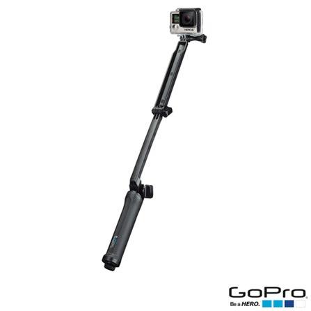 Suporte em 03 Formas GoPro para Câmeras HERO Preto - AFAEM-001, Suportes, 03 meses