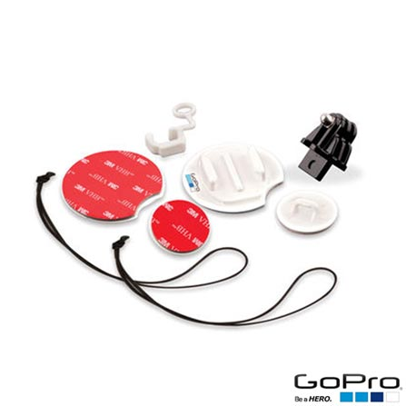 Suporte para Prancha de Surf em Plástico Branco para Câmeras HERO - GoPro, Branco, Suportes, 03 meses