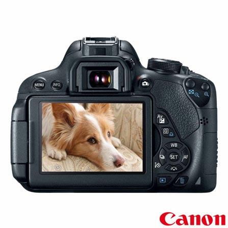 Câmera Digital Canon EOS Rebel T5i + Impressora Fotográfica Canon Selphy CP820 + Papel Fotográfico Canon KP108IN, 0, De 16.1 MP a 18 MP