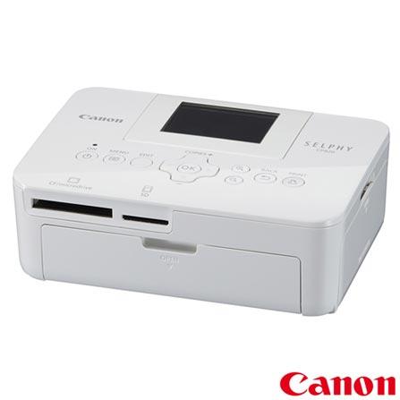 Câmera Digital Canon EOS Rebel T5i + Impressora Fotográfica Canon Selphy CP820 + Papel Fotográfico Canon KP36IP, 0, De 16.1 MP a 18 MP