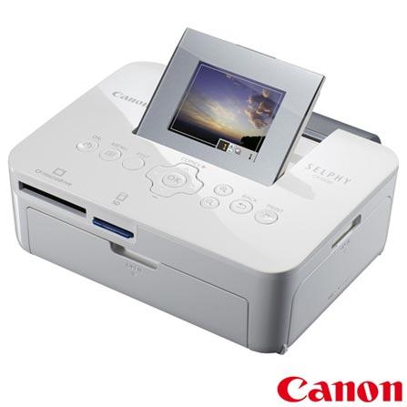 Impressora Fotografica Selphy CP1000 USB e Micro SD - Canon - CP 1000 + Papel Fotografico Brilhante - Canon - KP361IP, 0