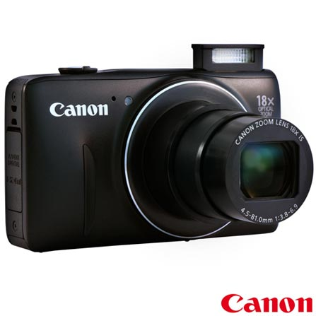 Câmera Compacta Digital SX600 + Impressora Fotográfica Portátil Canon Selphy CP820 + Papel Fotográfico Canon KP108IN, 0, De 14.1 MP a 16 MP