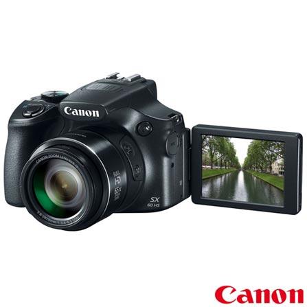 Câmera Digital Canon Powershot SX60HS + Impressora Fotográfica Canon Selphy CP820 + Papel Fotográfico Canon KP108IN, 0