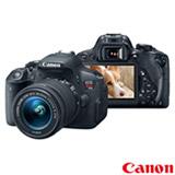 Câmera Digital Canon EOS Rebel T5i DSLR com 18 MP, Tela 3' Retrátil,  Gravação em Full HD - EOST5I
