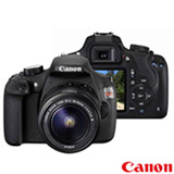 Camera Digital Canon EOS Rebel T5 DSLR com 18 MP, 3',  Gravacao em Full HD - EOST5