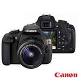 Camera Digital Canon EOS Rebel T5 DSLR com 18 MP, 3',  Gravacao em Full HD - EOST5
