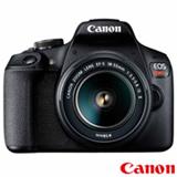 Câmera Digital Canon EOS Rebel T7 DSLR com 24.1 MP, 3', Gravação em Full HD - 2727C010AA