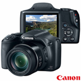 Câmera Digital Canon PowerShot Superzoom com 16 MP, 3', Zoom Óptico 42x e Filmagem em Full HD - SX520HS
