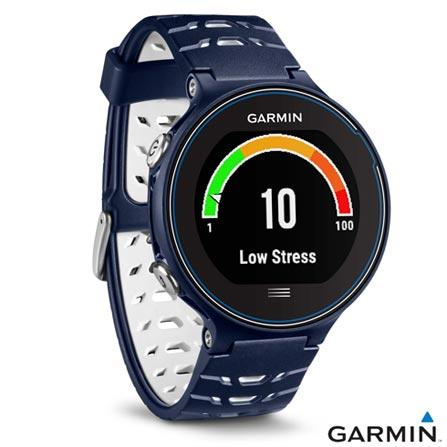 Relógio Garmin Forerunner 630 Azul Marinho com Display 31 mm, Touch, GPS e Pulseira de Borracha, Azul, Relógio, Não especificado, 12 meses