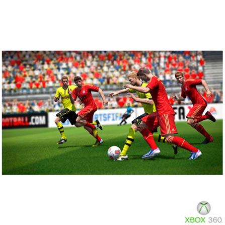 Jogo FIFA 14 para Xbox 360, Não se aplica, Livre, 03 meses, Esportes, Xbox 360, DVD