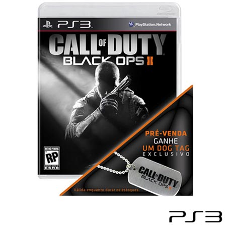 Jogo Call of Duty: Black Ops II para PS3, GM