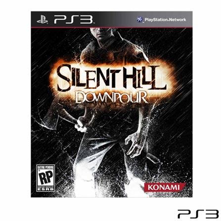 Jogo Silent Hill Downpour para PS3, PlayStation 3, Ação, Blu-ray, 18 anos, Inglês, 03 meses, 837172022888