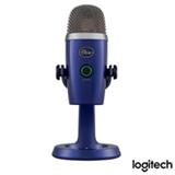 Microfone Blue Microphones Condensador USB  Blue Yeti Nano Azul - 988-000089