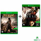 Jogo Dead Rising 3 para Xbox One + Jogo Ryse: Son of Rome para Xbox One